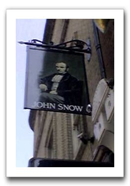 John Snow Pub Sign