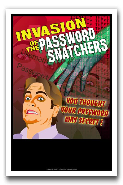 Invasion Of The Password Snatchers
